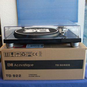 BC Accoustique 922 Plattenspieler